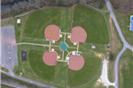 Aerial Dave King Park